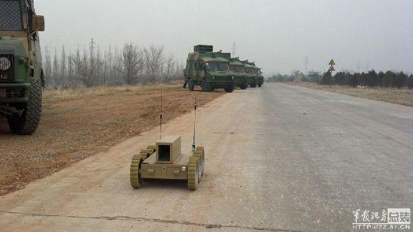 军队使用机器人提高战场生存率