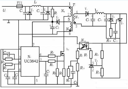 uc3842中文资料汇总(uc3842引脚图及功能_工作原理及典型应用