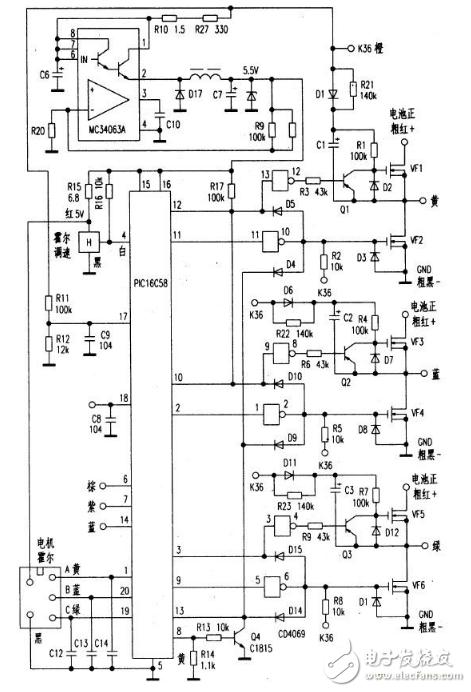 uc3844充电器电路图汇总(负脉冲充电器/变压器/脉冲充电器)