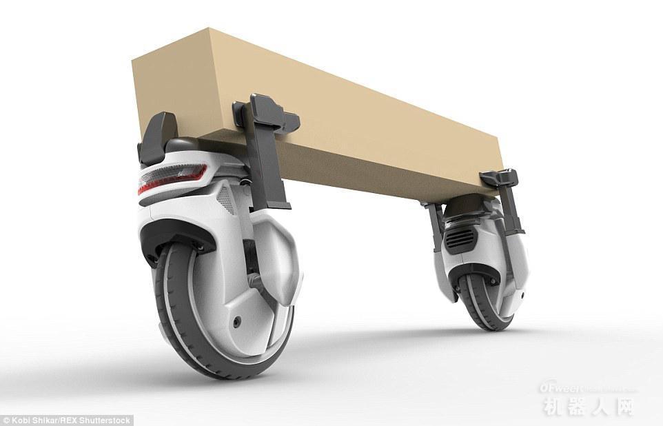 快递员面临失业?亚马逊将采用机器人送货