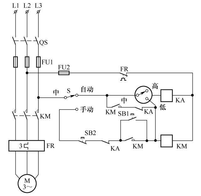 排气扇自动控制电路