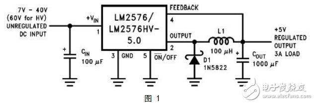 lm2576中文资料汇总(lm2576引脚图及功...