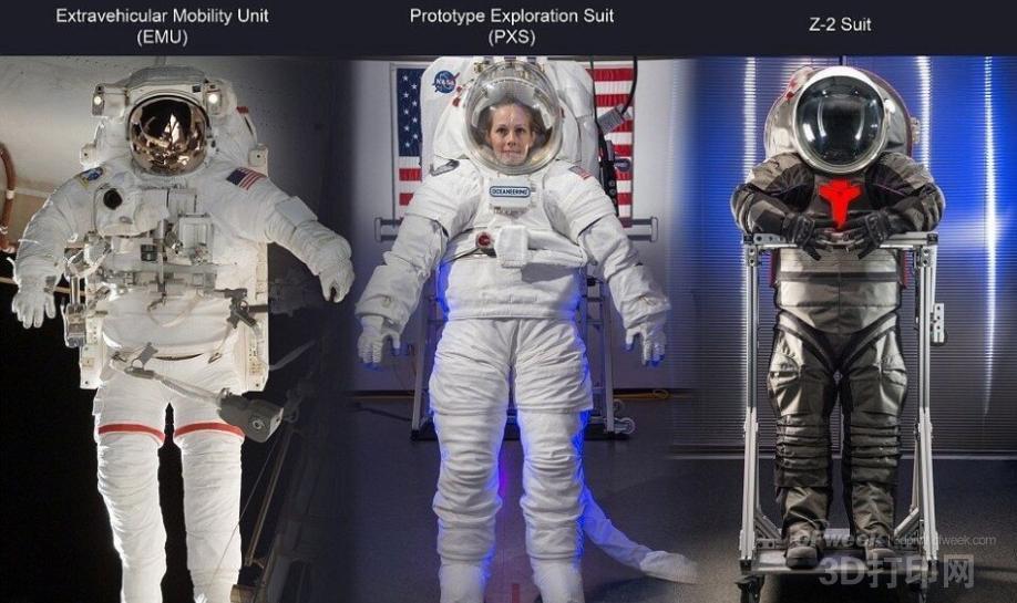 为宇航员量身定制的3D打印太空服