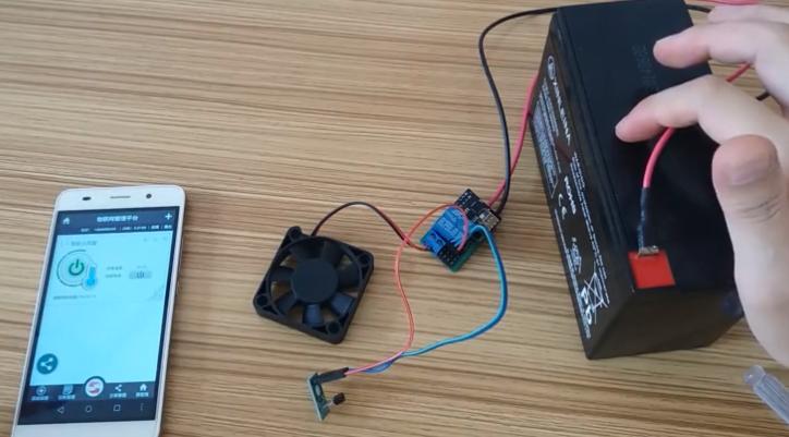 DIY冷藏室温度监测,数据还可以远程发送到手机