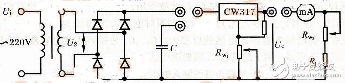整流滤波稳压电路图大全(整流滤波器/直流稳压电路)