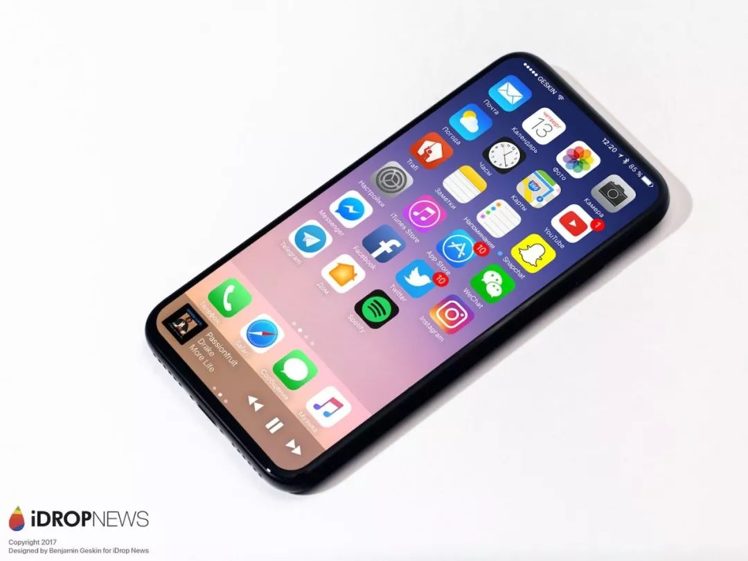 2019年的新iphone就要彻底告别齐刘海