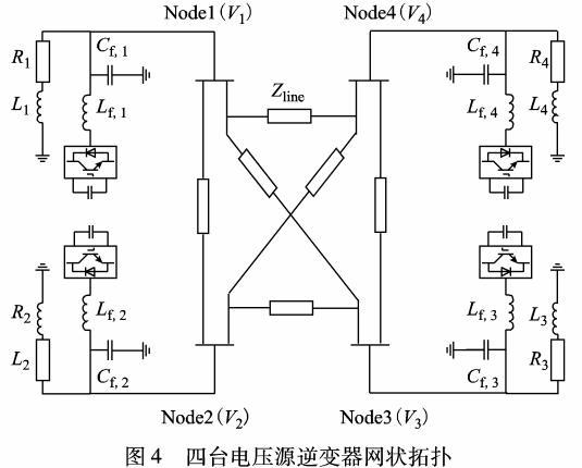 网状微电网MFD稳定分析