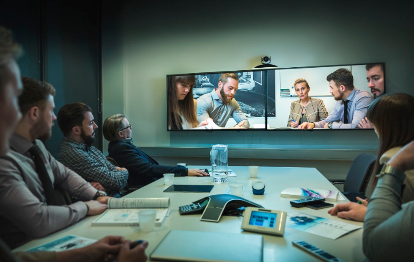 视频会议保持强劲的增长势头 UC行业发展的三大驱...
