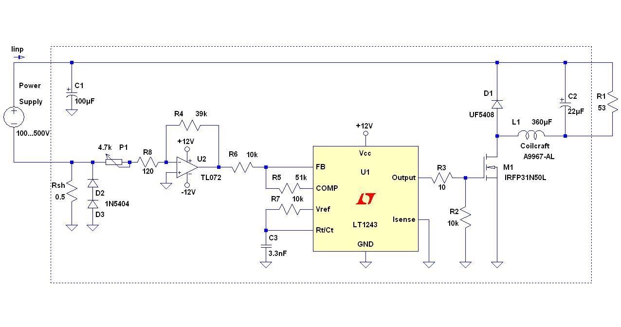 可用于高电压测试的有源负载