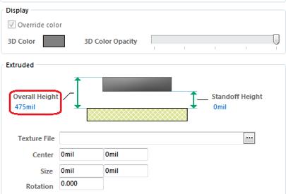 教你在AltiumDesigner中创建所需的环状3D体