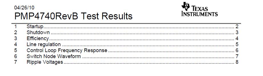 TIpmp4740revb测试结果数据