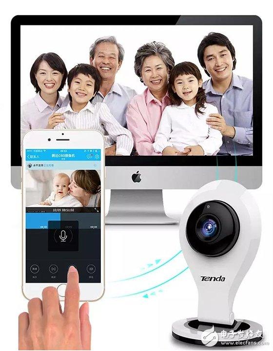 腾达网络摄像机C6,你的家庭看护专家