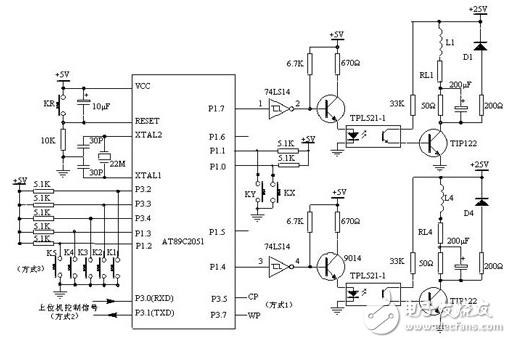 9014开关电路图_74ls14如何使用(74ls14引脚图及功能_工作原理及应用电路) - 电子 ...