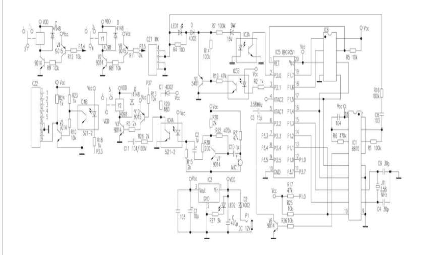 电话遥控监听器电路原理解析