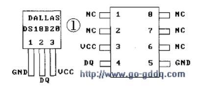ds18b20中文资料汇总(ds18b20引脚图...