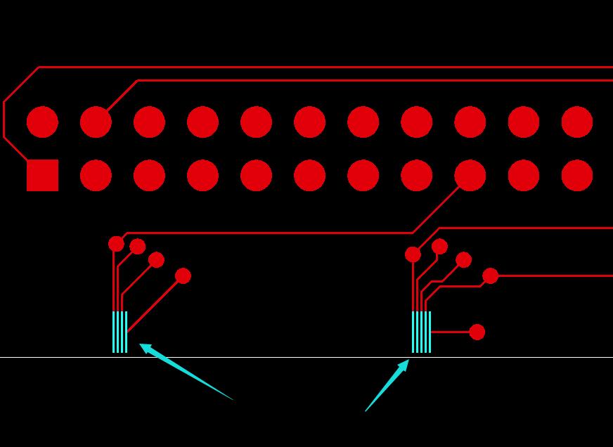 SMT宽及间距设计示意图1