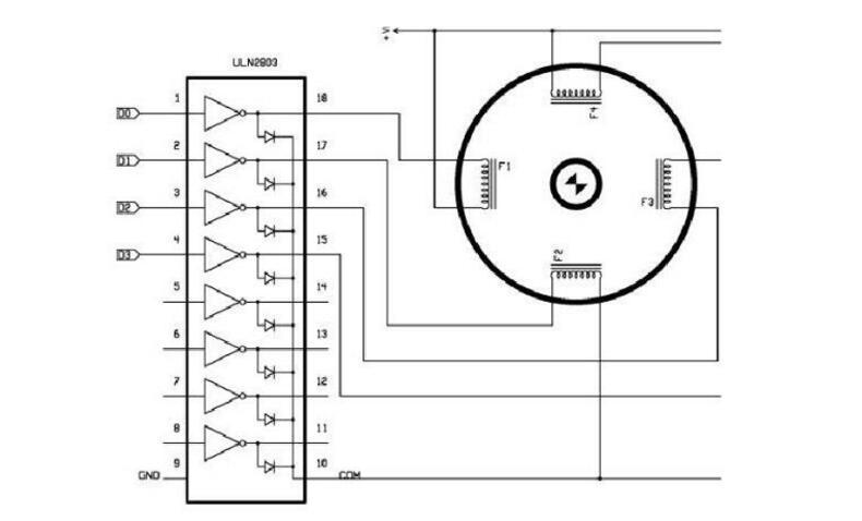 几款uln2803的应用电路及驱动电路