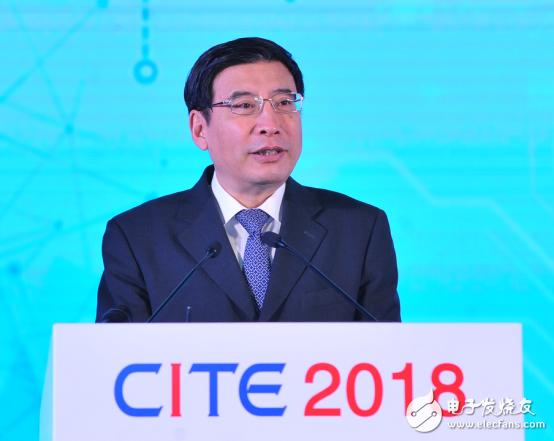 工业和信息化部部长苗圩:电子信息制造业2017年收入超过13万亿元