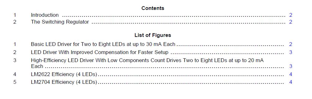 电感型开关稳压电路提供高效率白光LED驱动器概述
