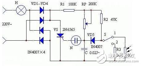 电子元件应用篇之光敏电阻(开关电路/控制电路)