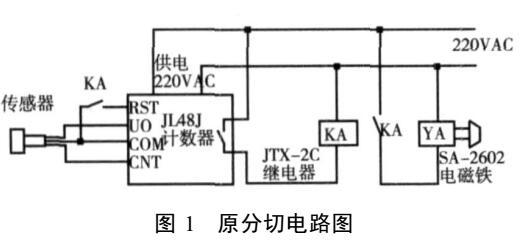 采用固态继电器分切电路的改进设计