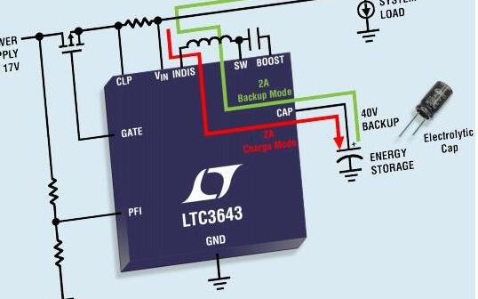 适用于5V和12V电压轨的备份解决方案