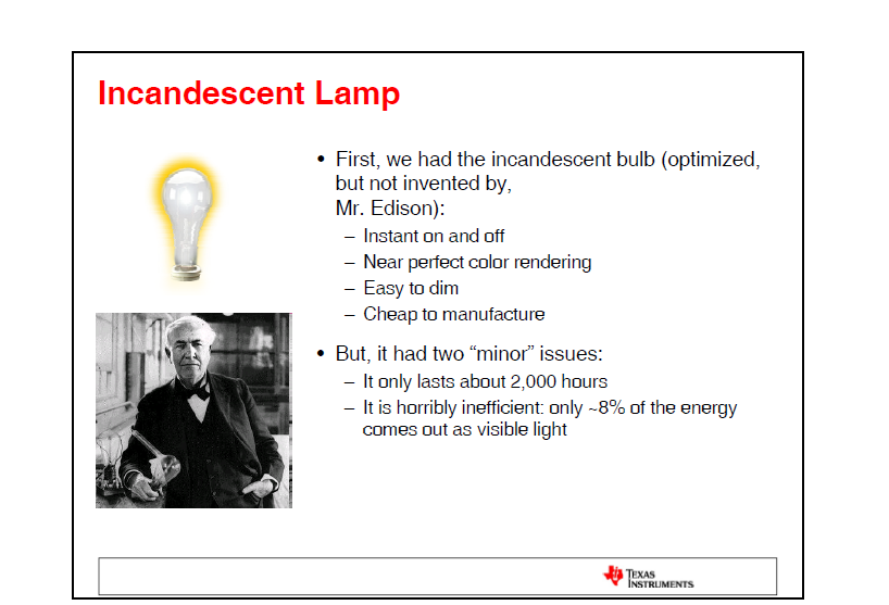 经用的LED照明详细介绍