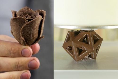 这些使用3D技术制作的食物你敢吃吗?