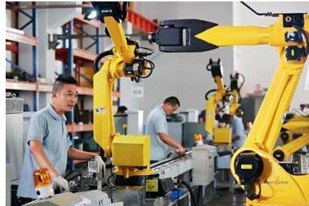 有技术才能谈高端 工业机器爬上制造业中高端