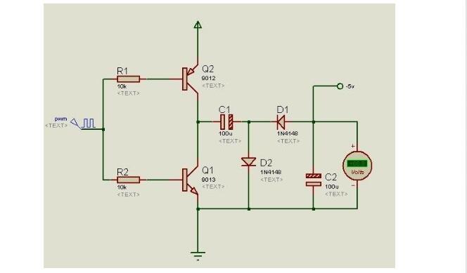 负电压产生的原因有哪些和负电压的电路分析