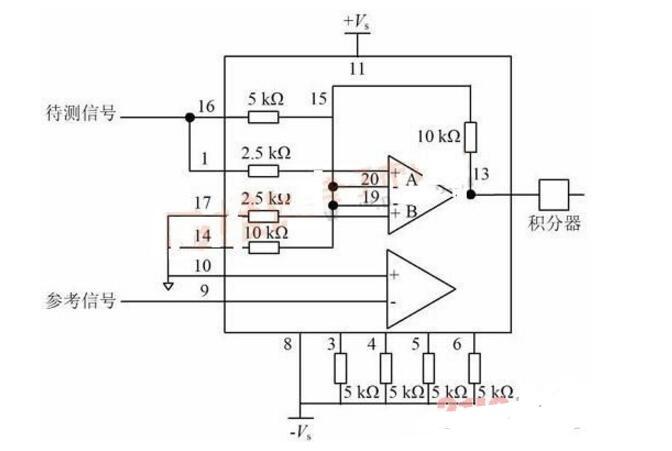 ad630应用电路图大全(ad630相敏检波/信号检测/锁相放大电路)