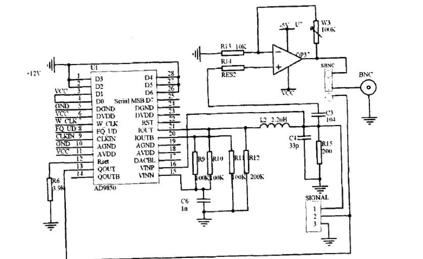 AD9850芯片原理及使用方法总结