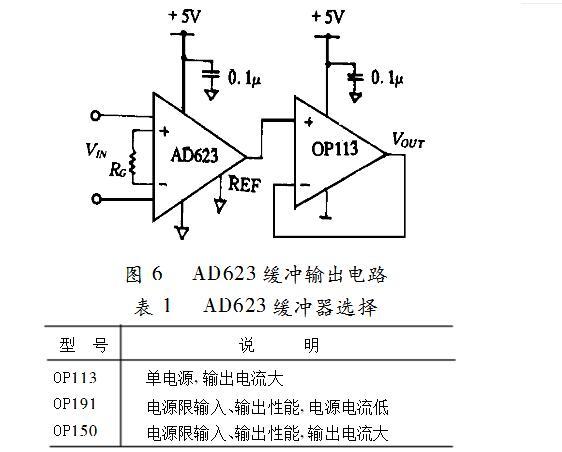 ad623单电源放大电路(ad623引脚图_工作原理及应用电路) - 全文