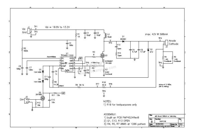 TIPMP4740的LED照明参考设计详细资料概述