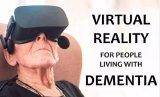 美国学教授试用VR治疗痴呆症患者