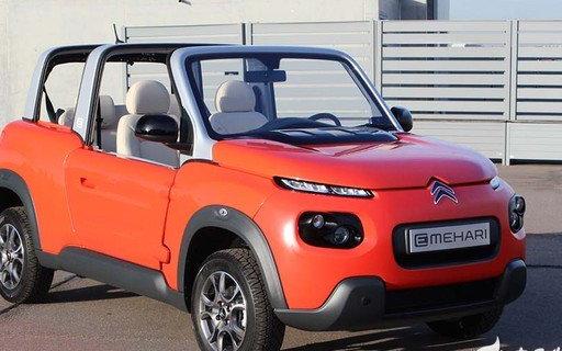 法国人能买到的奇葩电动车——雪铁龙 E-Meha...