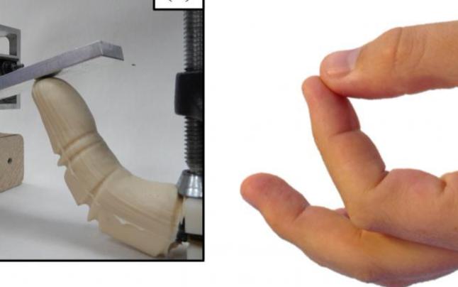 机械手指模仿人类手指受热和手冷反应