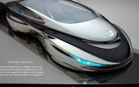 磁悬浮超跑最高速度可达350km/h
