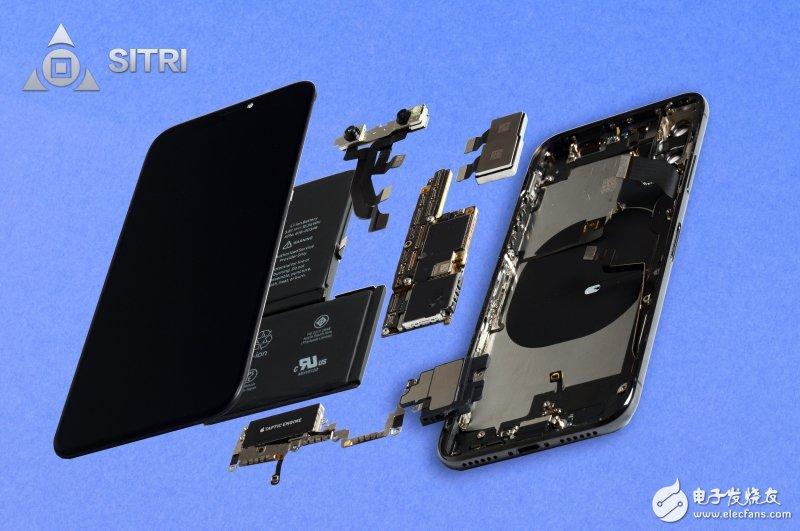 iphone x整机结构图