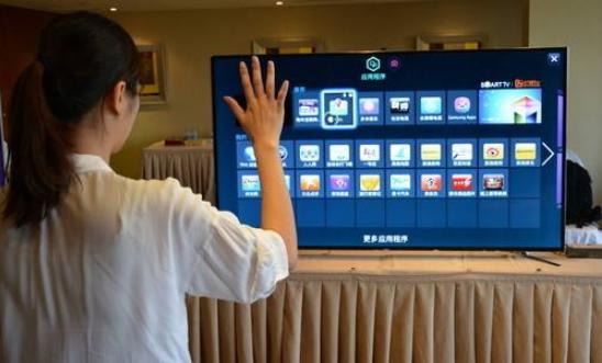 一分钟读懂 手势操控未来电视机  触控时代来临