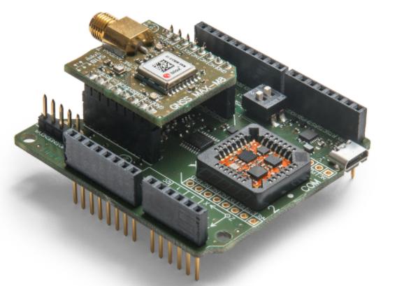 Xsens全新微型 INS 模块搭配外部 GNSS 接收器输入数据,提供高精准方向、速率和定位