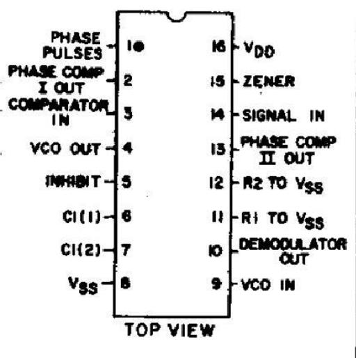 cd4046引脚图及功能_cd4046倍频电路设计详解