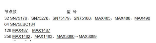 RS-485总线芯片的选型_应用及注意事项