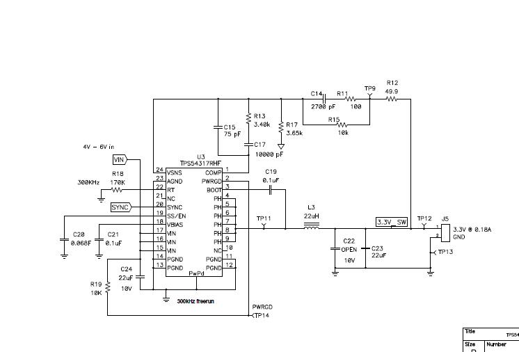 使用集成FET的DC/DC转换器和LDO5VIN电源的DM643x详细资料