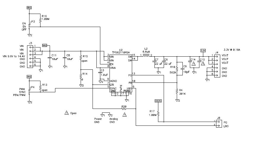 使用集成FET的DCDC转换器和LDO12VIN电源的DM643x详细资料