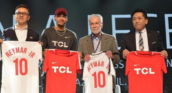 TCL全球化营销战略升级 与国际顶级品牌同台竞技