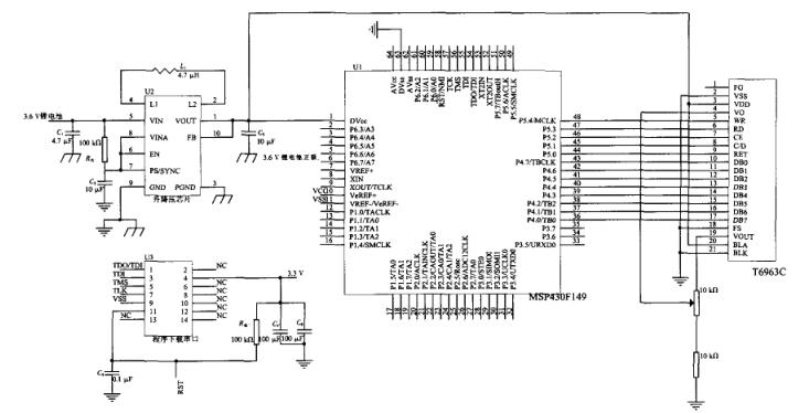 MSP430的内置T6963C液晶显示模块控制技术详析