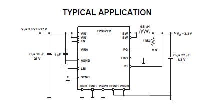 高效的低噪声TPS6211X同步DC-DC降压转换器详细介绍