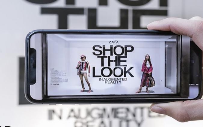 连锁百货公司Zara将虚拟模型带入实体商店 用户可轻松购物并共享