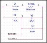 在降压转换器中DCR电流检测